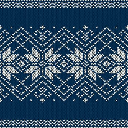 Winter Holiday Seamless Pattern
