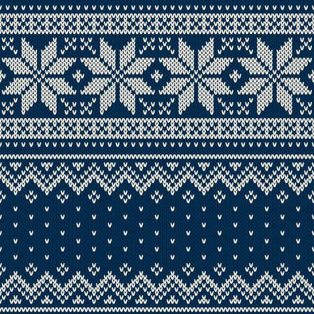 Christmas Sweater Design. Seamless Pattern