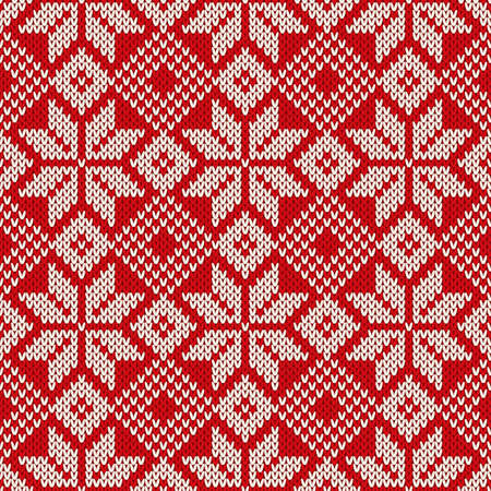 Christmas Sweater Design. Seamless Pattern Reklamní fotografie - 34279468