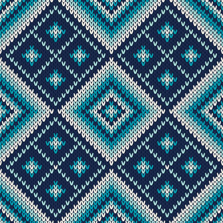 knitted: Knitted Seamless Pattern
