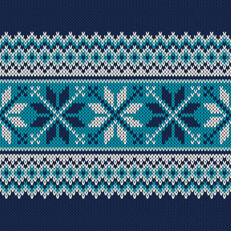 Seamless Pattern on the Wool Knitted textire. EPS available