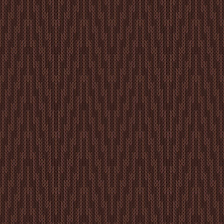 Seamless Pattern on the Wool Knitted Texture Illustration