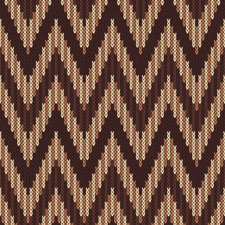 ridding: Traditional Fair Isle Pattern. Seamless Knitting Ornament Illustration
