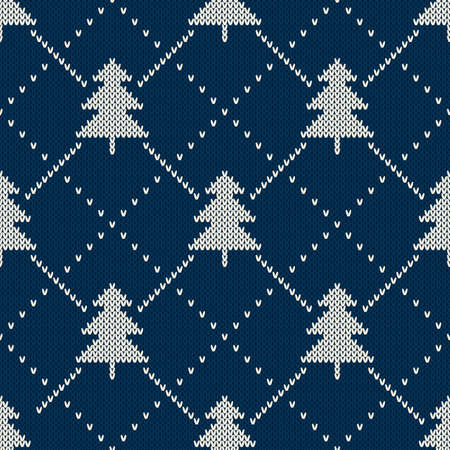 flocon de neige: Pull Design No�l. Motif de tricotage sans couture