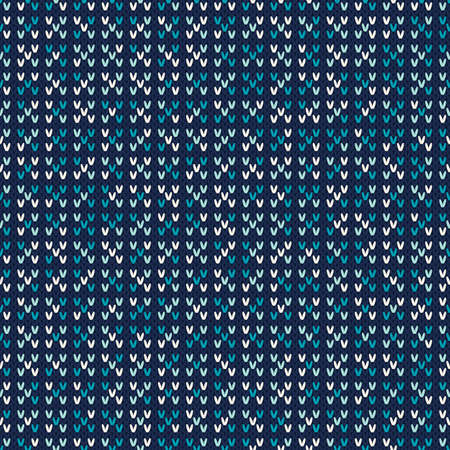 an island tradition: Abstract Knitted Pattern. Seamless Background Illustration