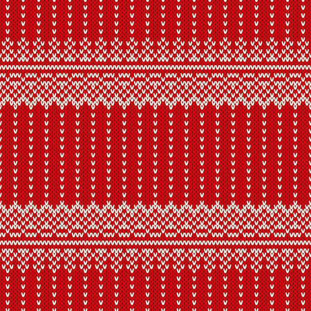 border vintage: Winter Holiday Seamless Knitting Pattern. Christmas and New Year Vector Background
