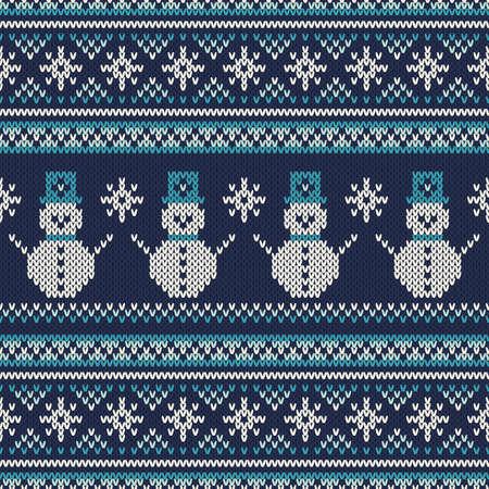 sueter: Vacaciones de invierno sin fisuras patrón de punto