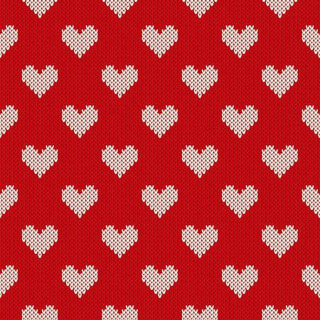 Fair Isle Sweater Design. Seamless Knitted Pattern