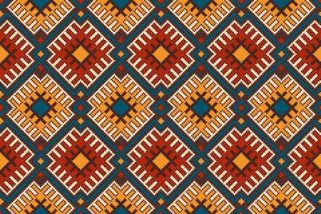 Tribal Aztec styl bezszwowe wzór geometryczny. Ilustracja wektorowa
