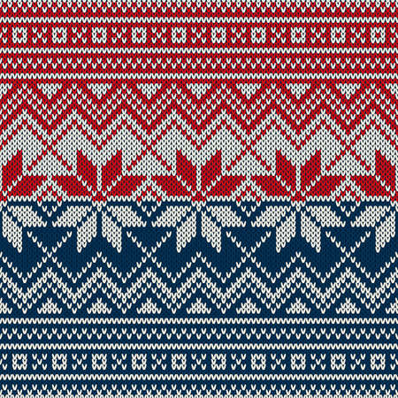christmas sweater design seamless knitting pattern stock vector 63926505
