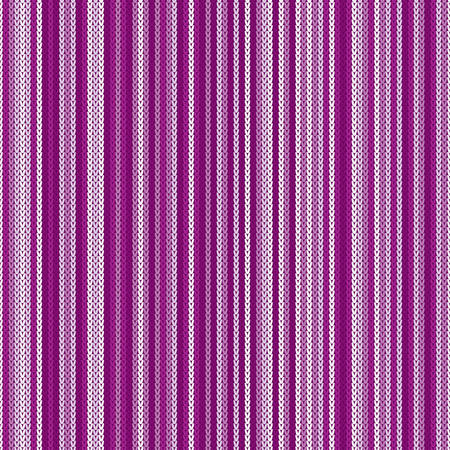 Striped Abstract Knitted Pattern. Vector Seamless Knitting Wool Texture. Knitted Sweater Design
