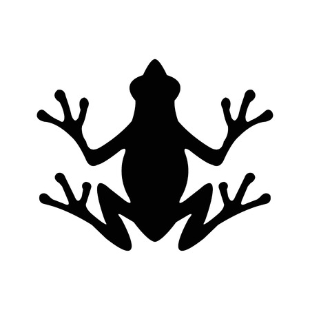terrarium: Frog Illustration