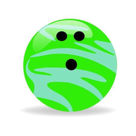 bolus: Bowling Ball Illustration