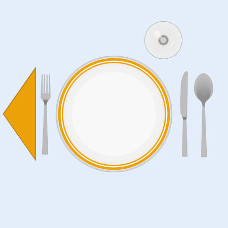 caterer: Cutlery vector