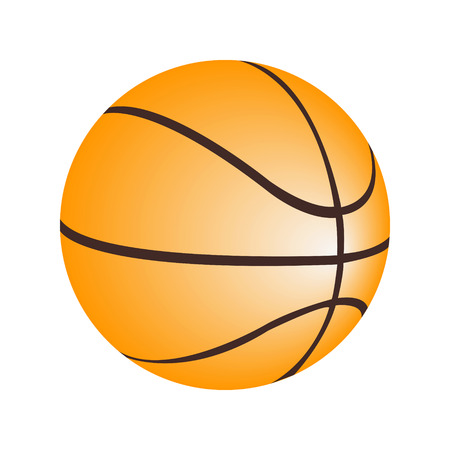 Basketball ball vector Stock Vector - 30816931