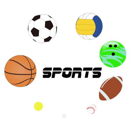 balones deportivos: Deportes de pelotas  Foto de archivo