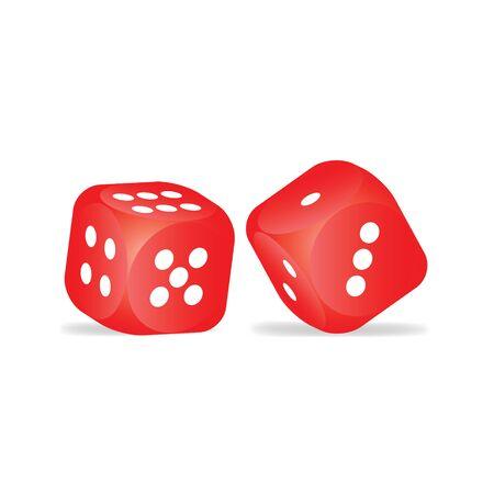 Red dice photo