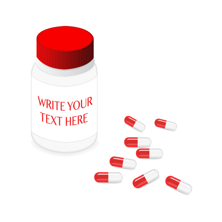 pastil: Pillbox and capsules