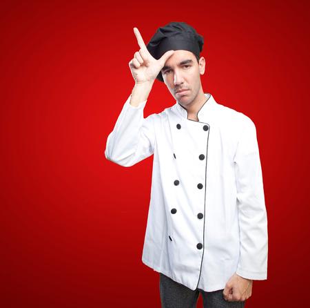loser: Loser chef Stock Photo