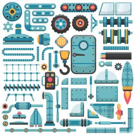 sunroof: Spare parts set. Suitable for designing unique unusual machines.