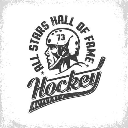 Hockey banner.