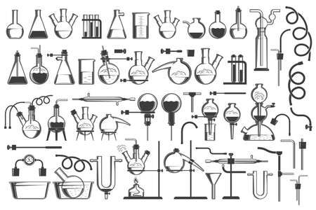 Chemical science design elements set