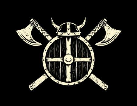 Viking warrior emblem