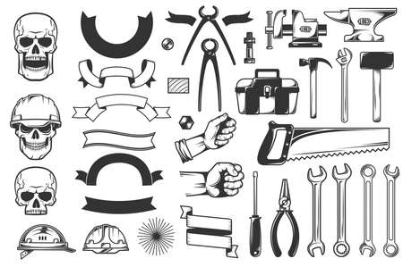 tools set Stock Photo