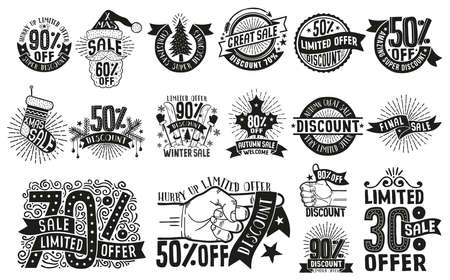 Retro hipster logos for sale