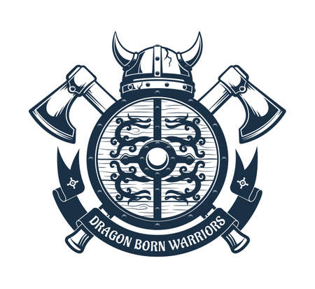 Escudo de armas vikingo