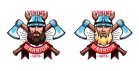 Viking emblems mascots