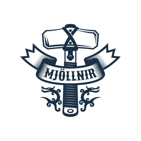 Viking Mjollnir logo