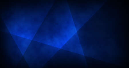 Abstract blue geometric