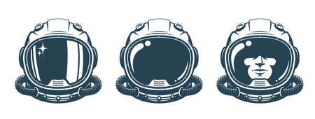 Astronaut helmet - vintage set