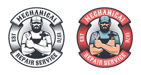 Mechanical repair service retro