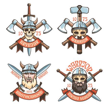 Barbarian warrior retro