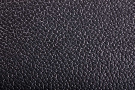 Black leather background Stock Photo - 11410919