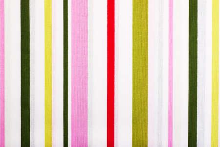 Bright colorful fabric background with vertical stripes photo