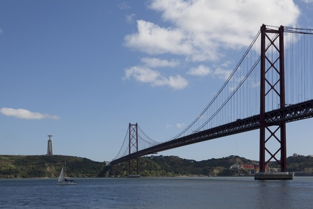 lisbonne: Lisbon Bridge - April 25th, Old Salazar Bridge, Portugal
