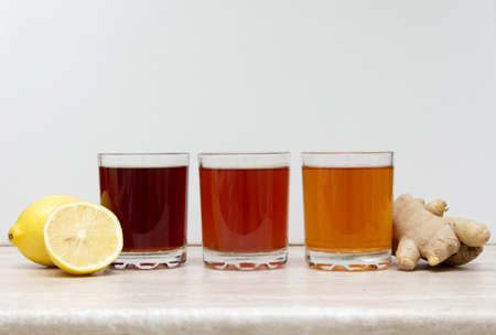drinks of different colours