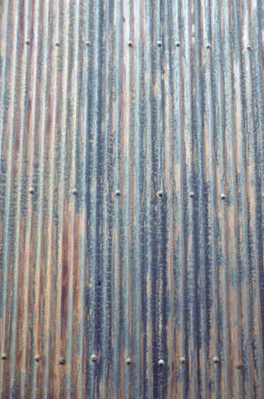 galvanized: galvanized wall