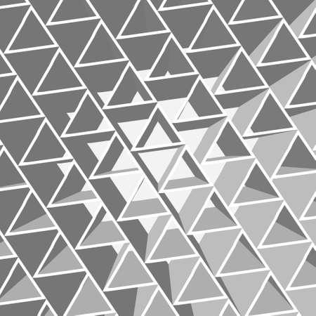 three cornered: triangle Stock Photo