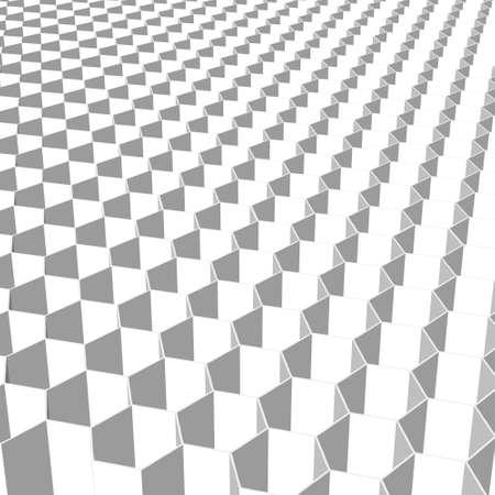 porosity: hexagon Stock Photo