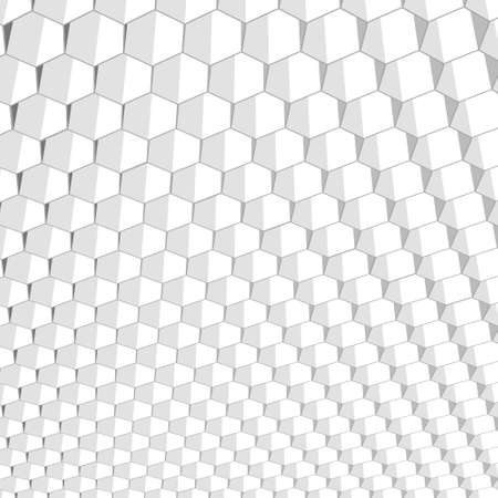 porosity: hexagon Stock Photo
