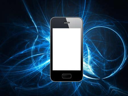 powered: powered phone Stock Photo