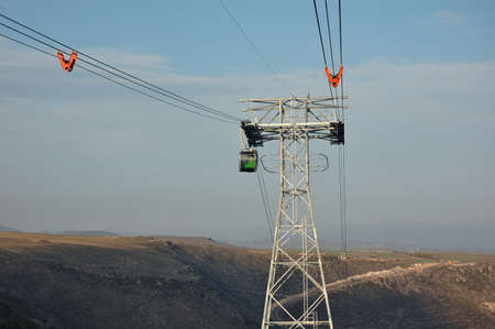 reliance: Reliance and gondola cableway  Tatev  Armenia Stock Photo
