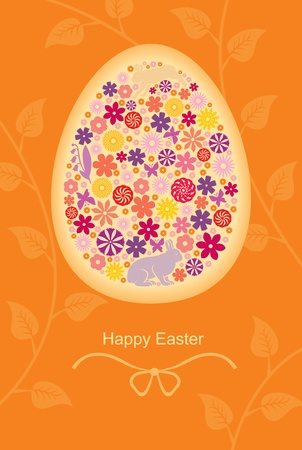 Easter congratulatory background  Stock Vector - 18541778
