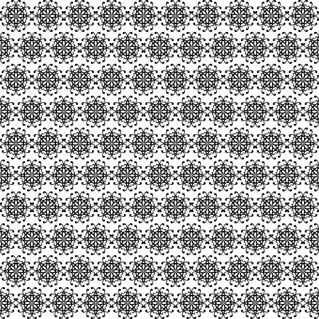 duplication: Abstract seamless pattern of round elements