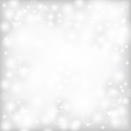 Blur grey abstract background with white highlights and white spots Vector