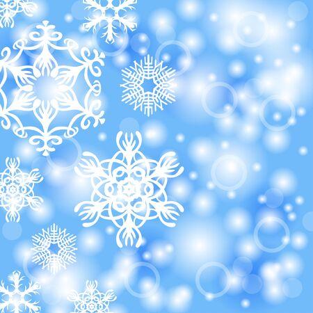 christmas snowflakes: illustrations of Christmas snowflakes background